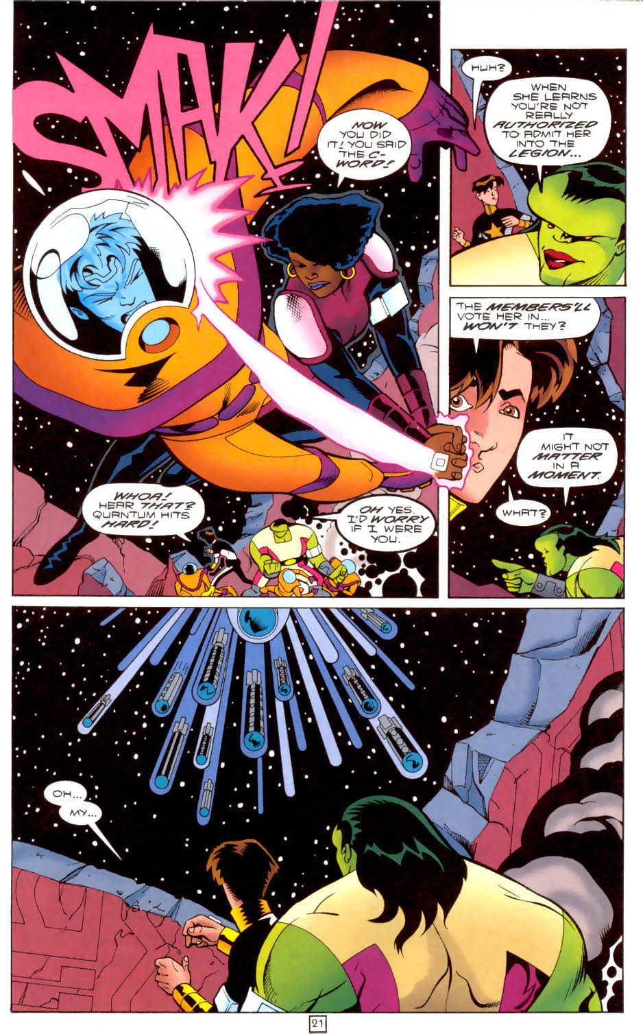 Legion of Super-Heroes (1989) 103 Page 20