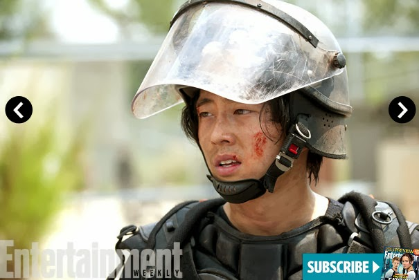 The Walking Dead 4x09 en EW - Glenn