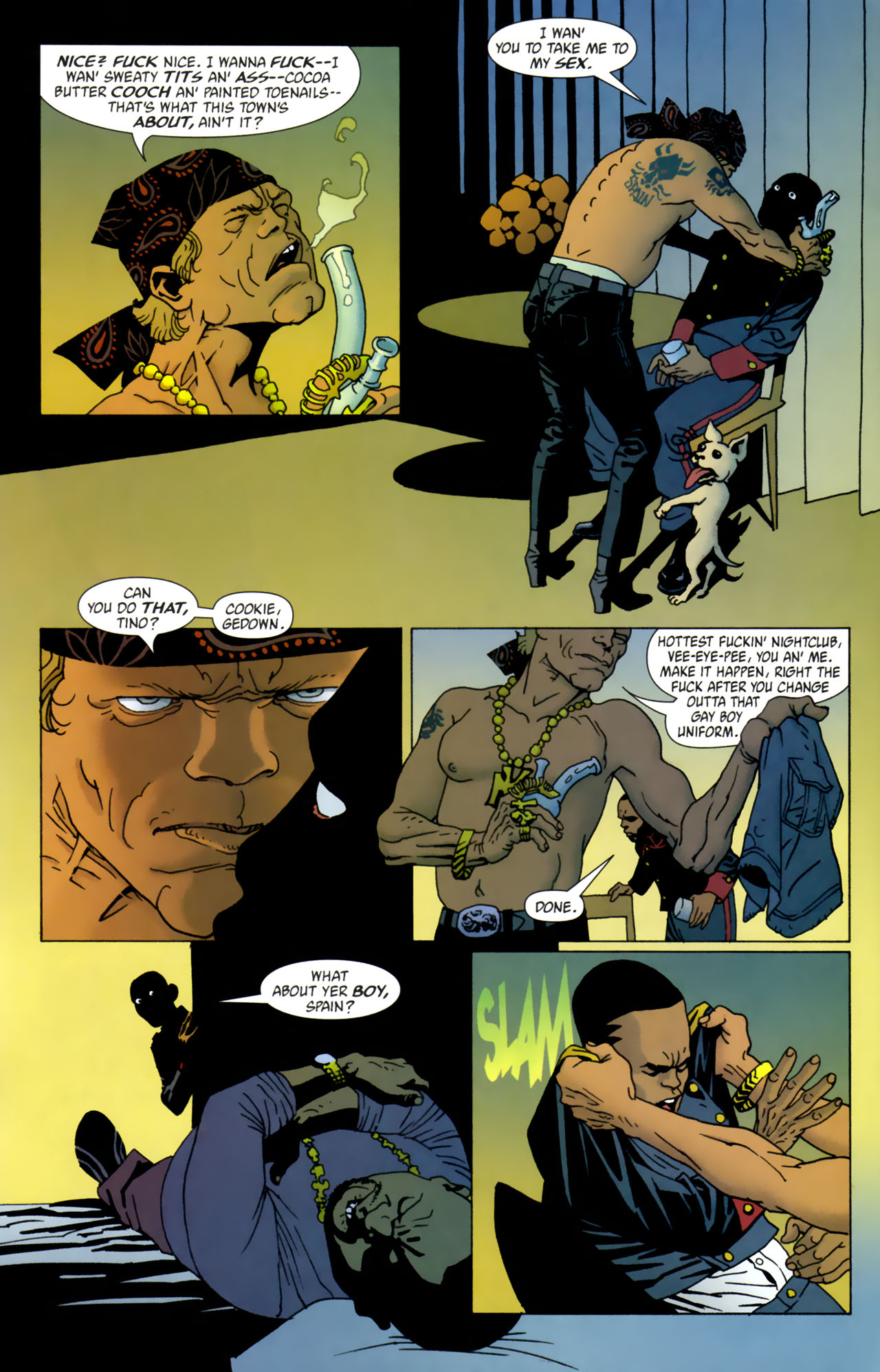 Read online 100 Bullets comic -  Issue #61 - 7