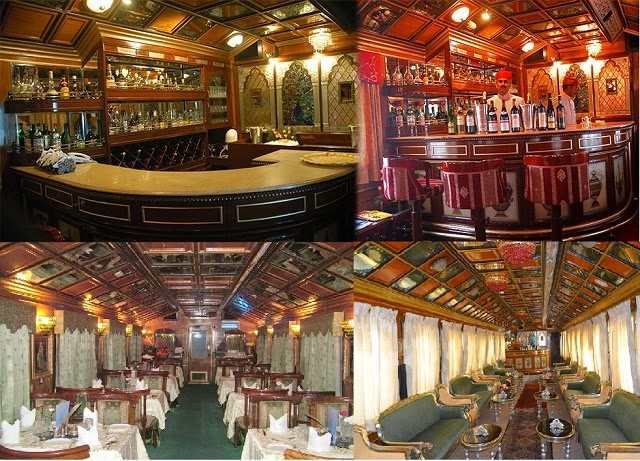 Palace on Wheels - Dining & Lounge