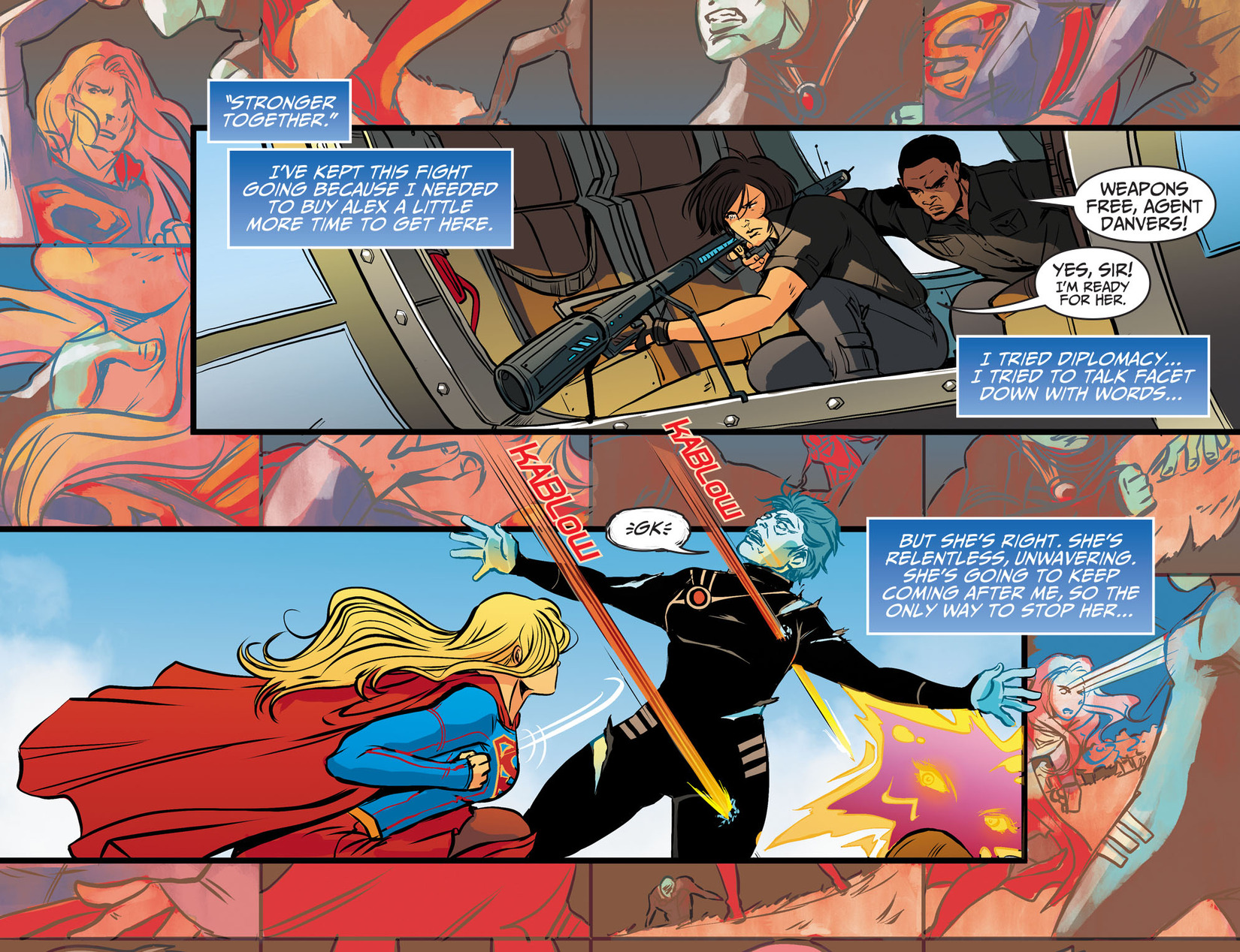Read online Adventures of Supergirl comic -  Issue #13 - 12