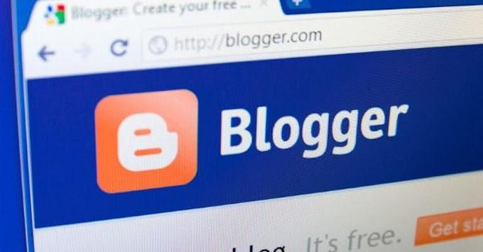 Pengenalan fungsi menu dashboard pada blogspot