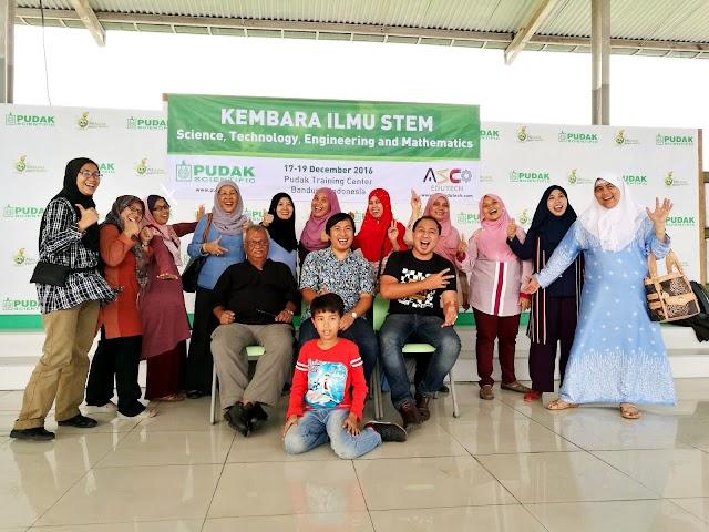 Kembara Ilmu STEM ke Bandung, Indonesia
