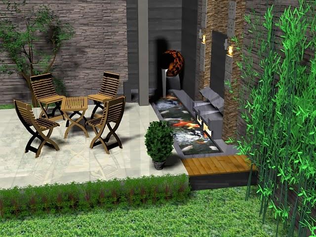 Taman Rumah Minimalis Terbaru 2014