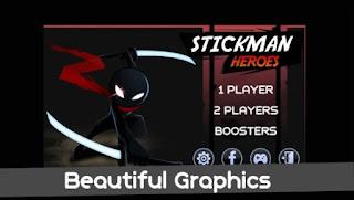 Games Stickman Warriors Heroes App