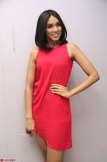 Spatika Surapaneni in Red Tight Dress at FBB Miss India 2017 finalists at Telangana auditions Feb 2017 (54).JPG
