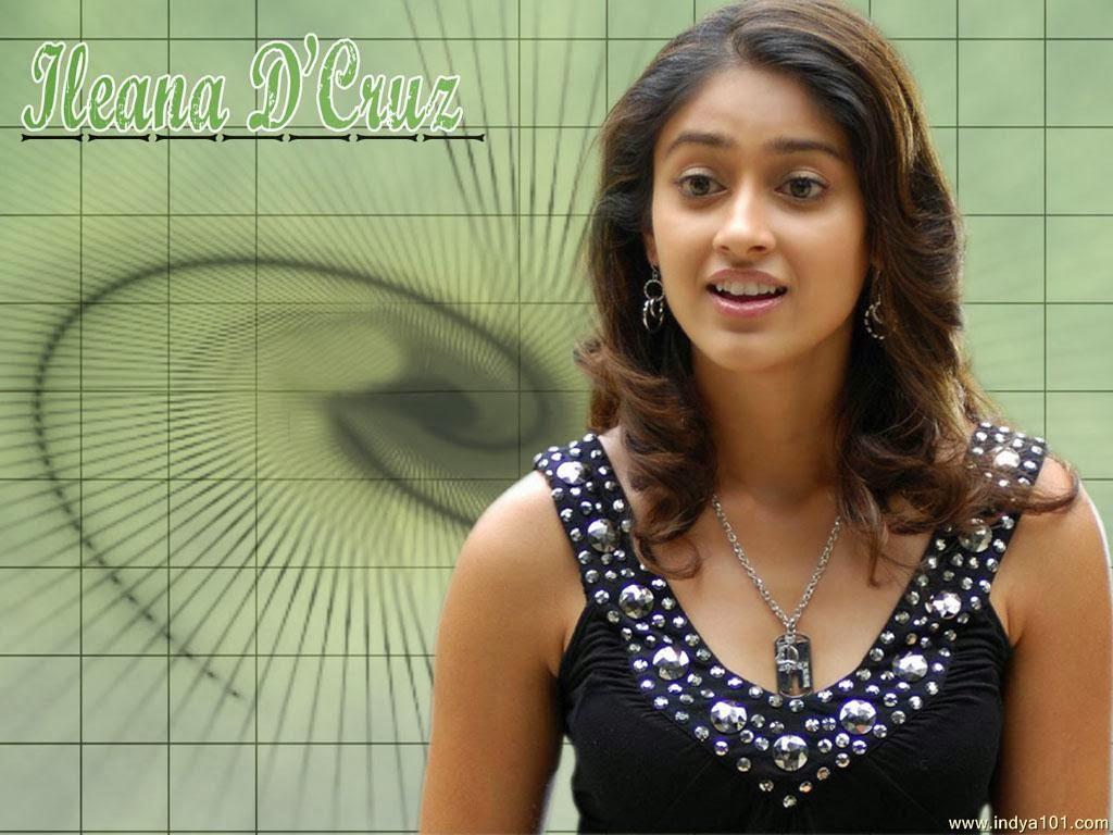 Ileana: Ileana D'Cruz The Cute Telugu Actress Wallpapers