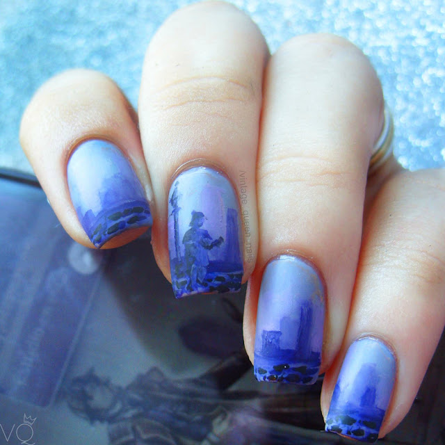 sherlock holmes arthur conan doyle nail art