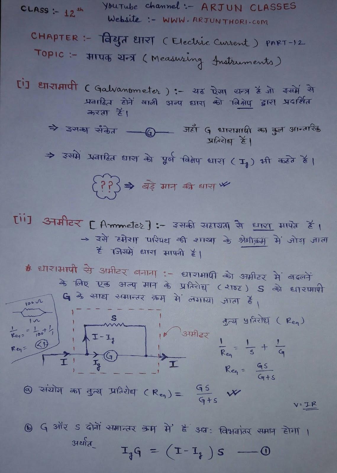 Circuit Diagram Physics