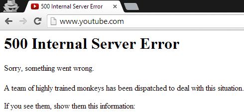 توقف يوتيوب عن العمل هذا الصباح