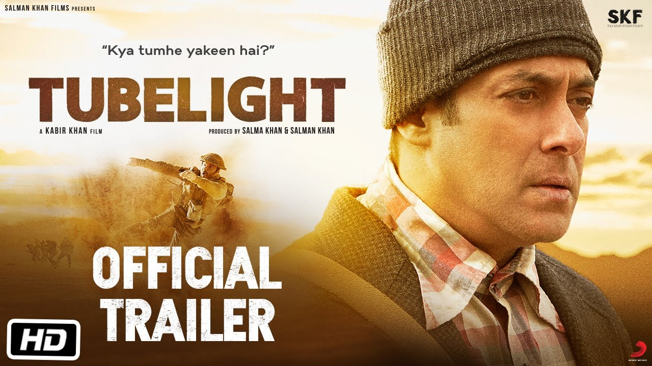 Tubelight Hindi Movie Official Trailer