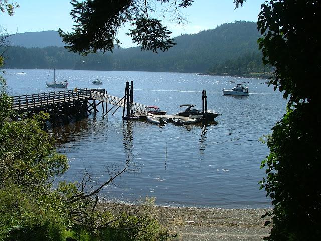 Eastsound county dock