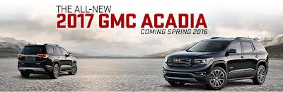 Upcoming 2017 Acadia Denali SUV image
