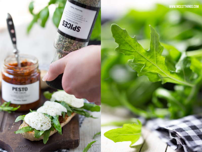 Rucola Sandwich Food Photography