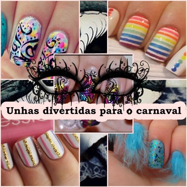 unhas,nai art,carnaval,esmaltes,coloridos