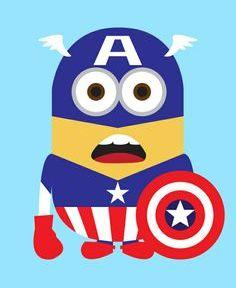 Minions Avengers.