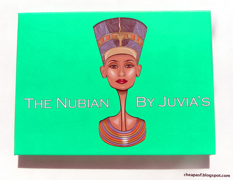 Review and swatches of Juvia's Place Nubian Palette