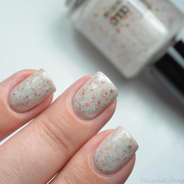 tan crelly nail polish