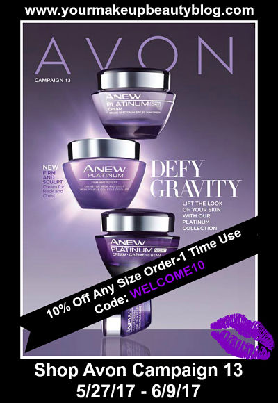 Shop Avon Campaign 13 Good Through 6/9/17
