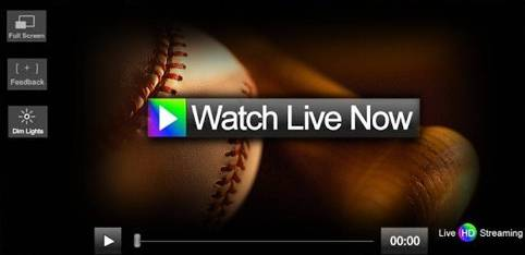 Watch Baseball Matches Online
