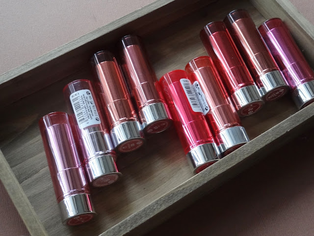 Essence Sheer and Shine Lipsticks