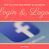 Facebook Login Welcome Home Page Log Out Update 2019