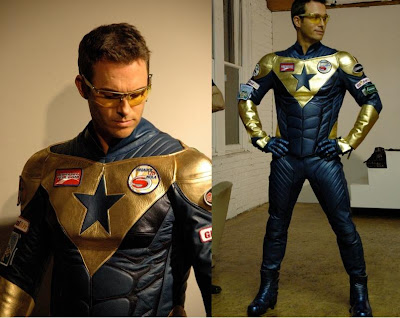 Smallville First Look Eric Martsolf as Booster Gold
