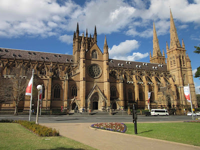 Catedral St. Mary. Sydney
