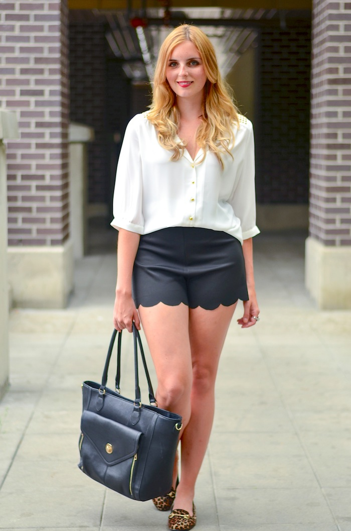 Cute Scalloped Shorts