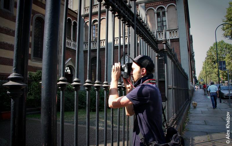 фотограф в Турине