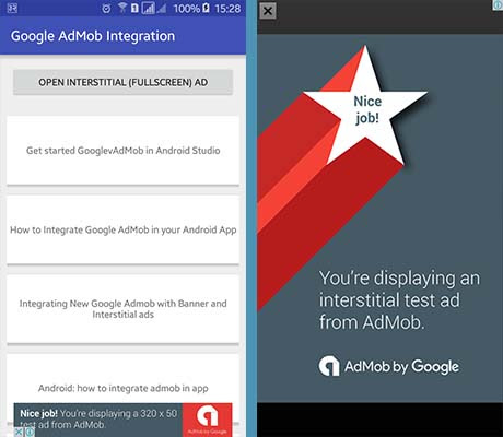 Android Integration Example: How to Integrate Google AdMob to Android to Earn Money from Free Apps and Games