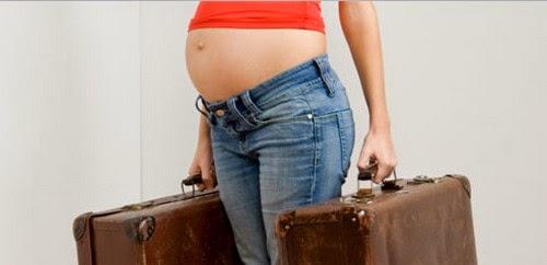 ibu hamil jalan-jalan