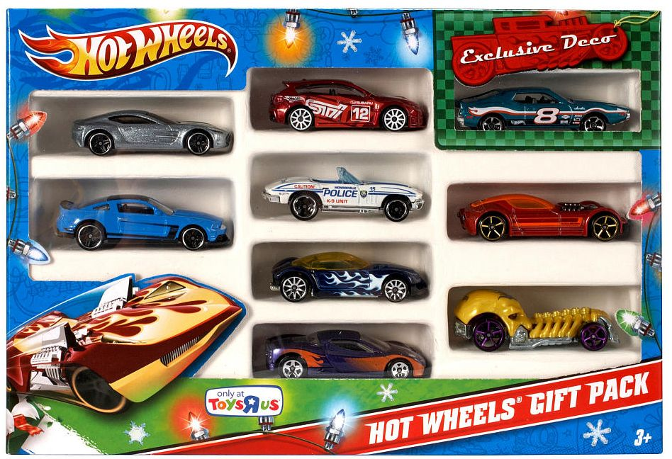 2012 Hot Wheels Toys R Us Season Exclusive 9 Pack