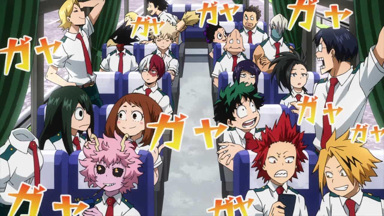 الحلقة الثانية من أنمي بطل أكاديميتي الموسم الـ3  Boku no Hero Academia S3 - 02