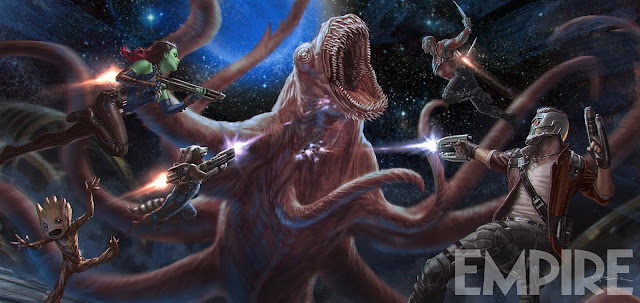 Concept Art de Guardianes de la Galaxia vol 2