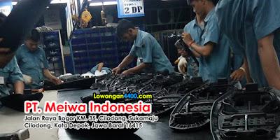 Lowongan Kerja PT. MEIWA Indonesia Plant 2 Cilodong Depok