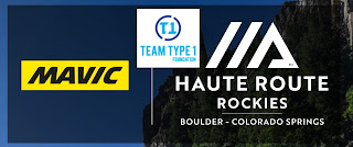 Haute Route, Mavic and Team Type 1 logo's