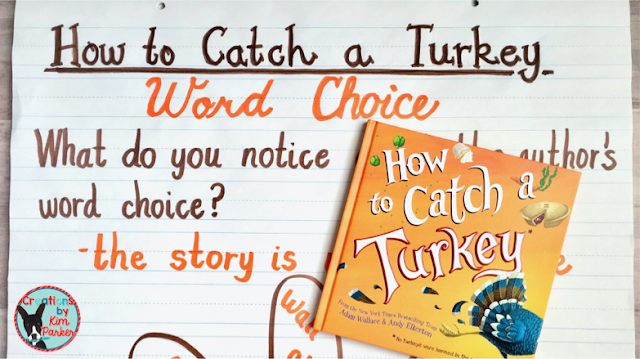 How to Catch a Turkey Thanksgiving Read Aloud Recommendation