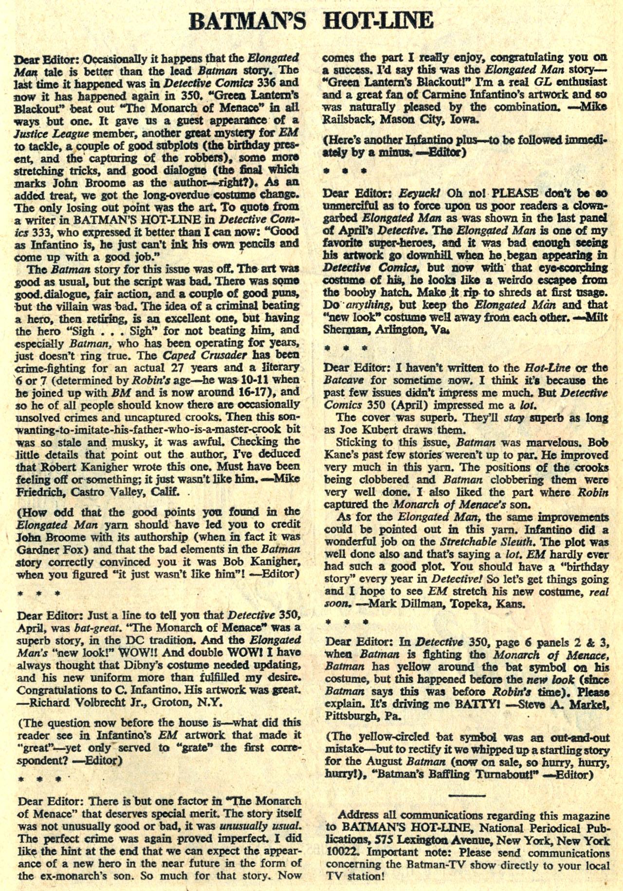 Detective Comics (1937) 354 Page 19