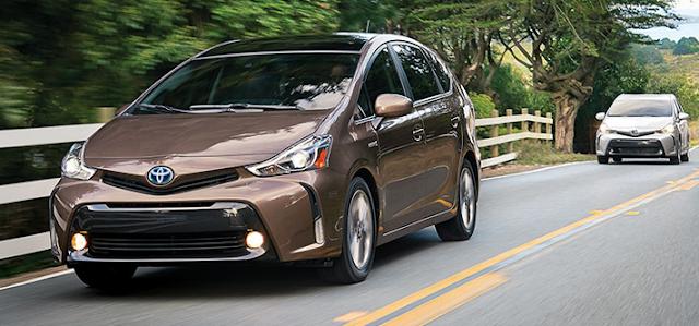 2018 Toyota Prius V Hybrid Interior and Exteriors