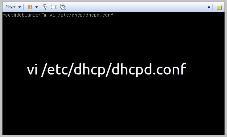 dhcpd.conf debian