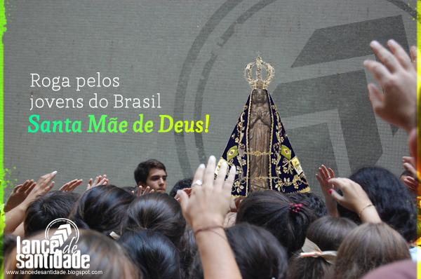 Querida Padroeira Do Brasil Abenç Frases Nossa Senhora: BLOG DO ALEXANDRE TÁVORA: Homenagem A Nossa Senhora