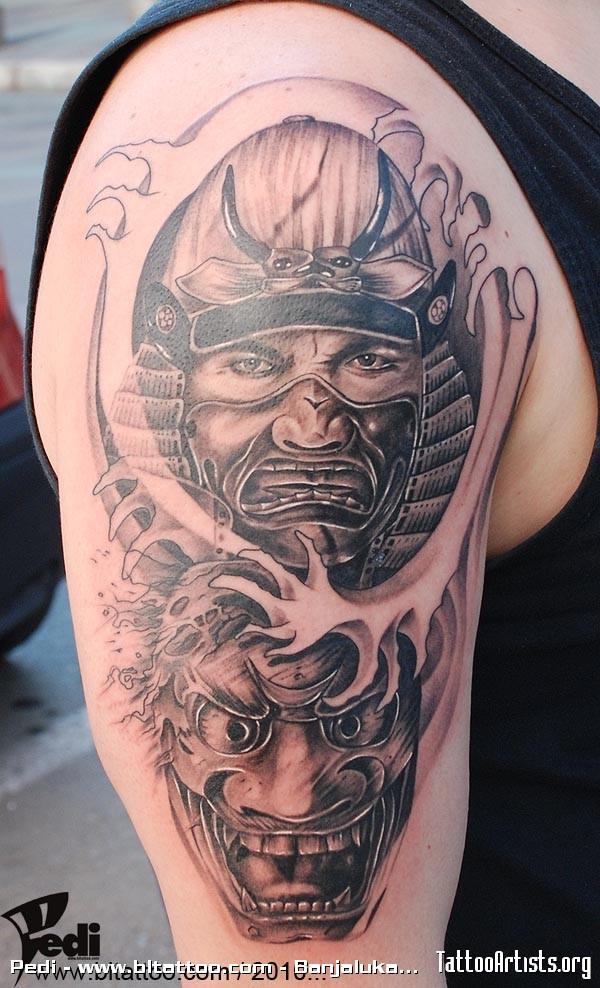 japan evil tattoo