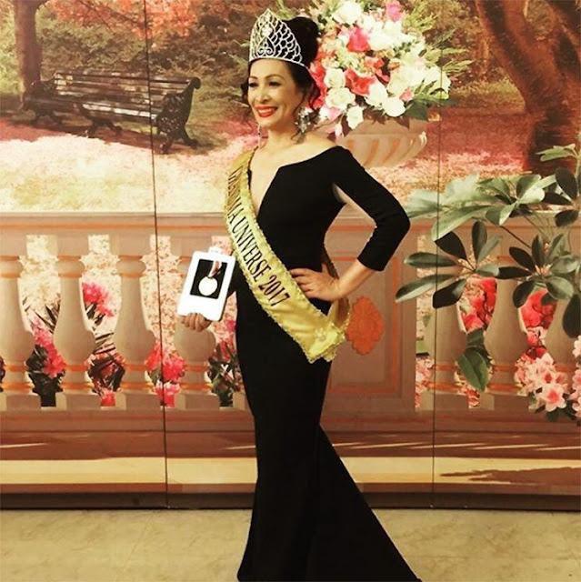 Gorgeous Pinay Lola wins Ms. Grandma Universe 2017!