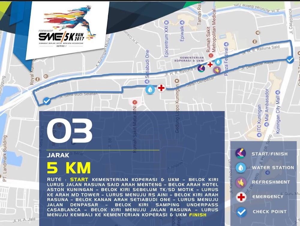 FORWAKOP SME 5K Run • 2017