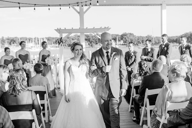 Pasadena, MD Wedding at The Anchor Inn Photographed by Heather Ryan Photography
