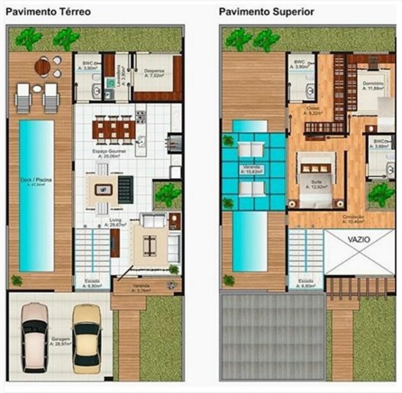 101 planos de casas planos de casas de 2 plantas peque as for Plantas de viviendas