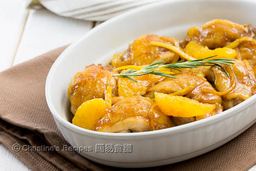 煎雞腿配香橙果醬汁 Chicken Thighs with Orange Marmalade02