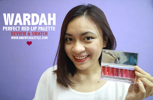 Wardah - Perfect Red Lip Palette
