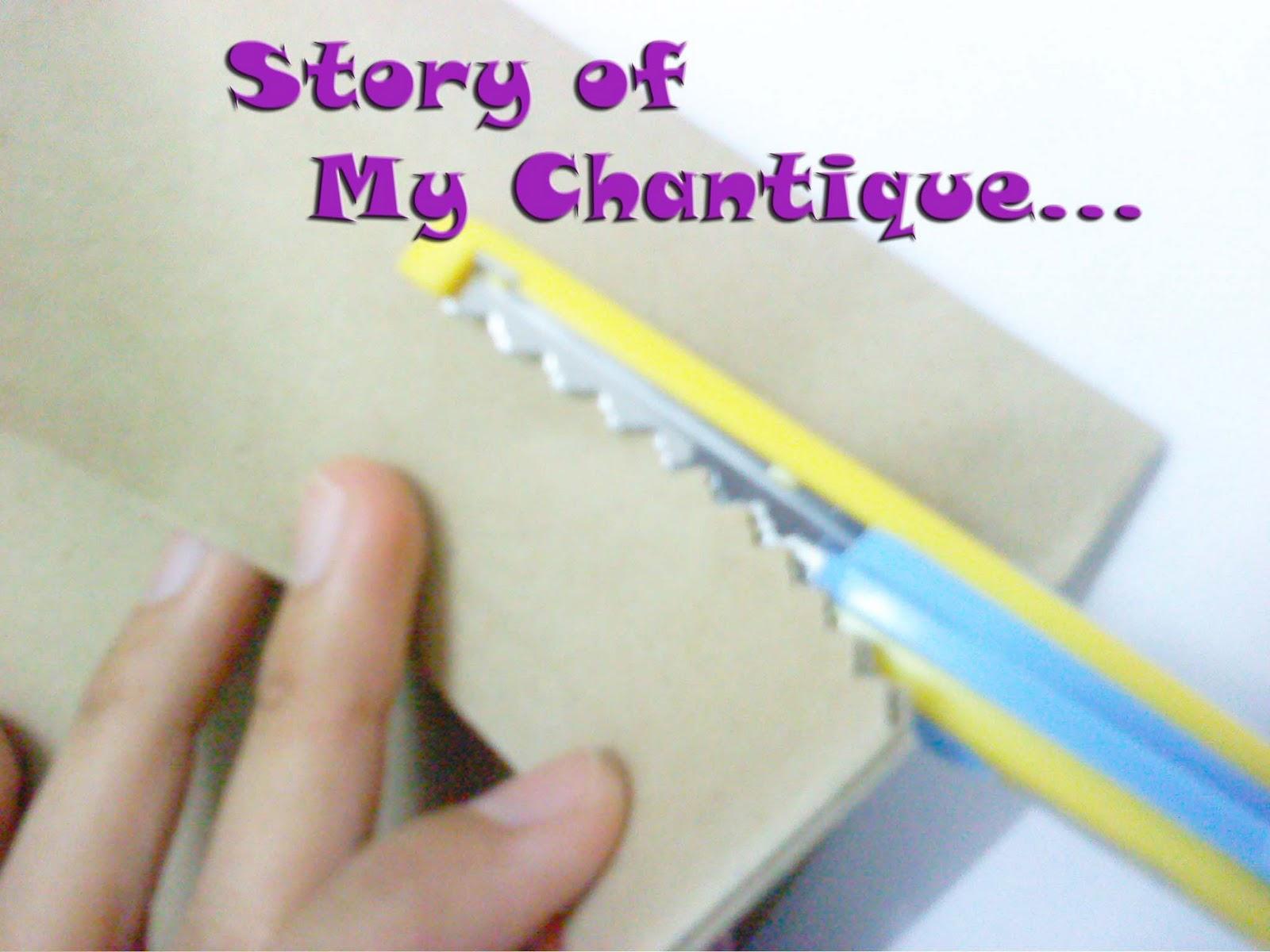 Story Of My Chantique DIY Cara Membuat Goodies Paper Bag